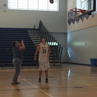 She shoots. She scores. #basketball