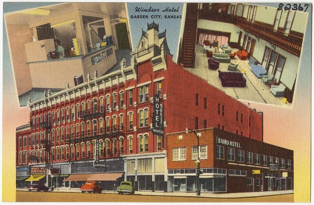 Windsor Hotel Garden City Kansas Flickr Photo Sharing