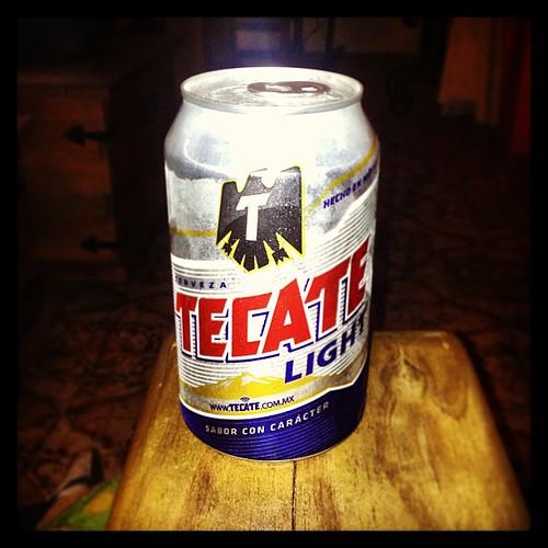 Tecate Light Patrocinador Oficial Del Santos Vs Cruz Azul Futbol Cerveza Tragoscoquetos
