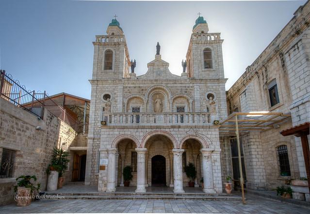 Catholic Cana Church Cana By Derek N Winterburn Flickr Photo Sharing