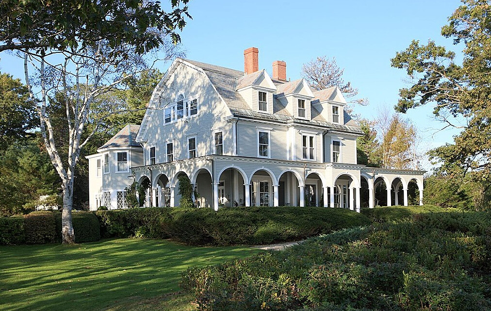 Falmouth Maine Menikoe Point Is A Majestic Private