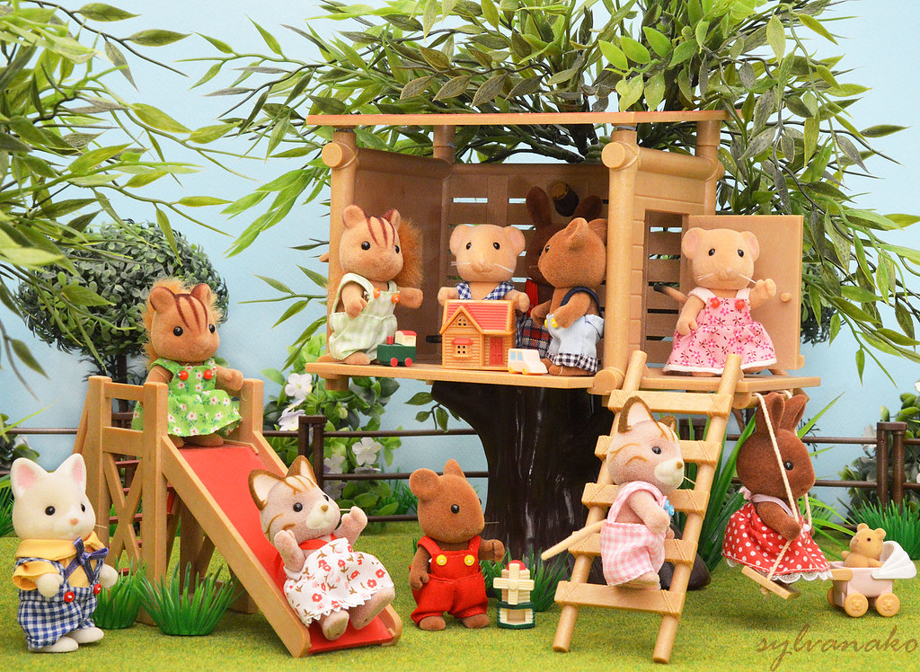Sylvanian Families Tree House Sylvanako Flickr
