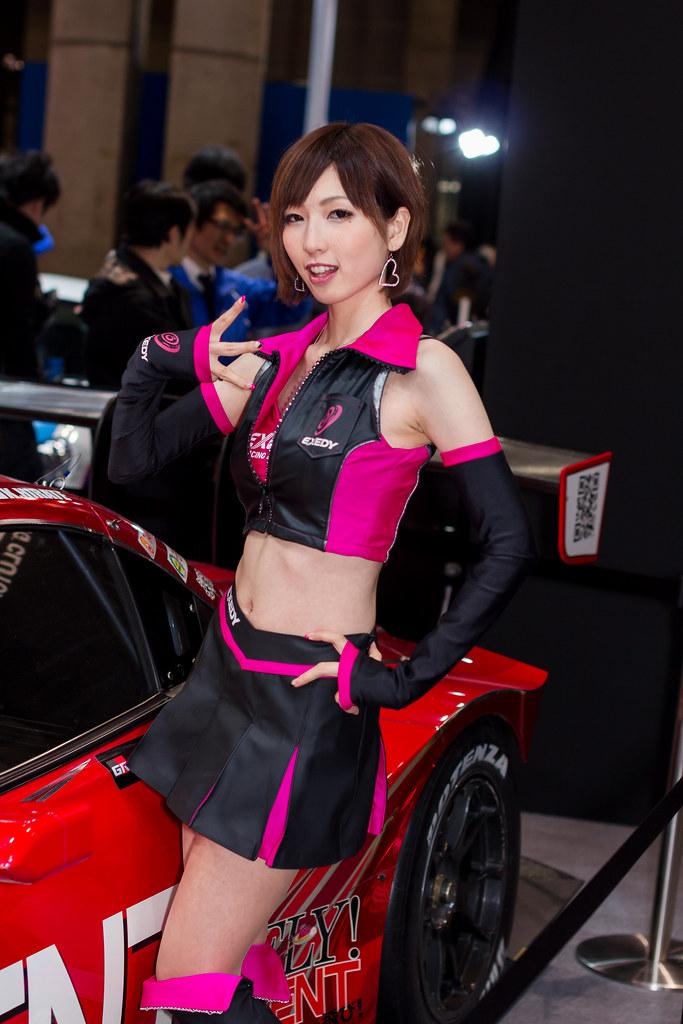 Exedy tokyo auto salon 2014 show girl makuhari chiba j flickr - Tokyo motor show 2014 ...