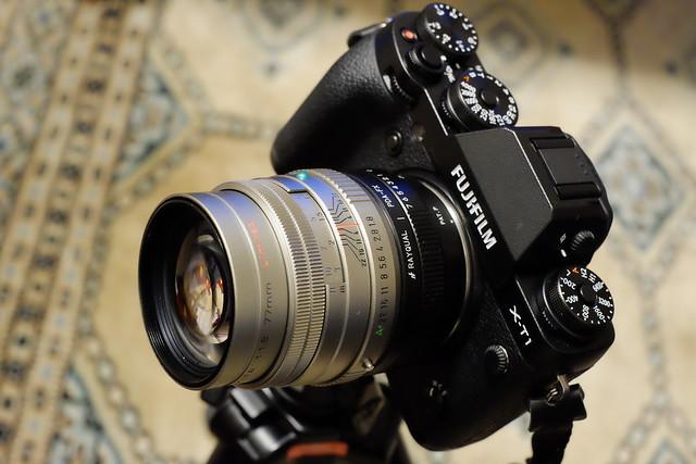 X-T1 + FA77mm f1.8 Limited
