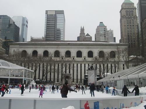 Bank of America Winter Village, NYC. Nueva York