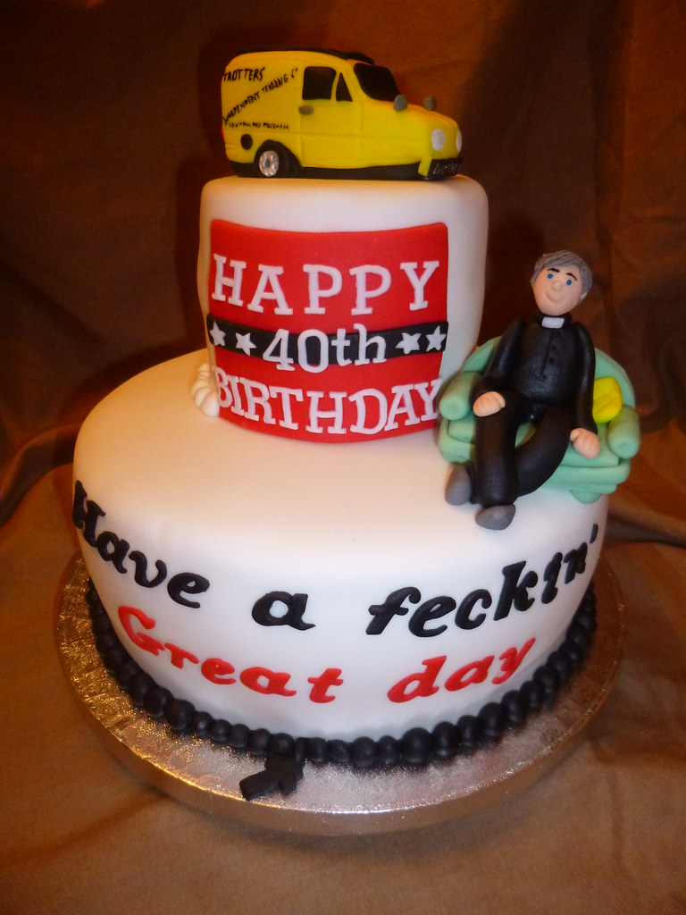 Only fools and horses and Father Ted cake Dawn Flickr