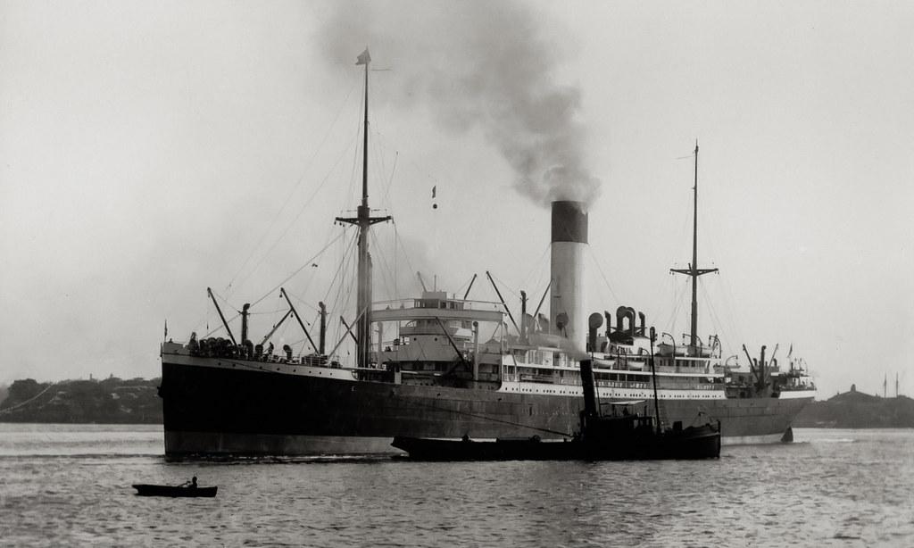 Nestor nestor uk built 1913 blue funnel line 14 501 tons for Built by nester
