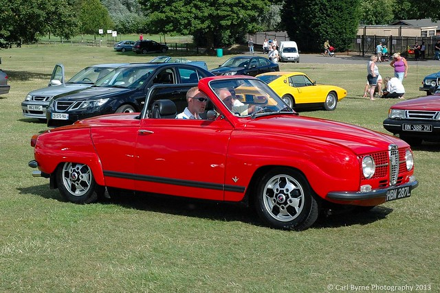 SAAB 96 V4 Convertible (1972) - SAAB International 2013