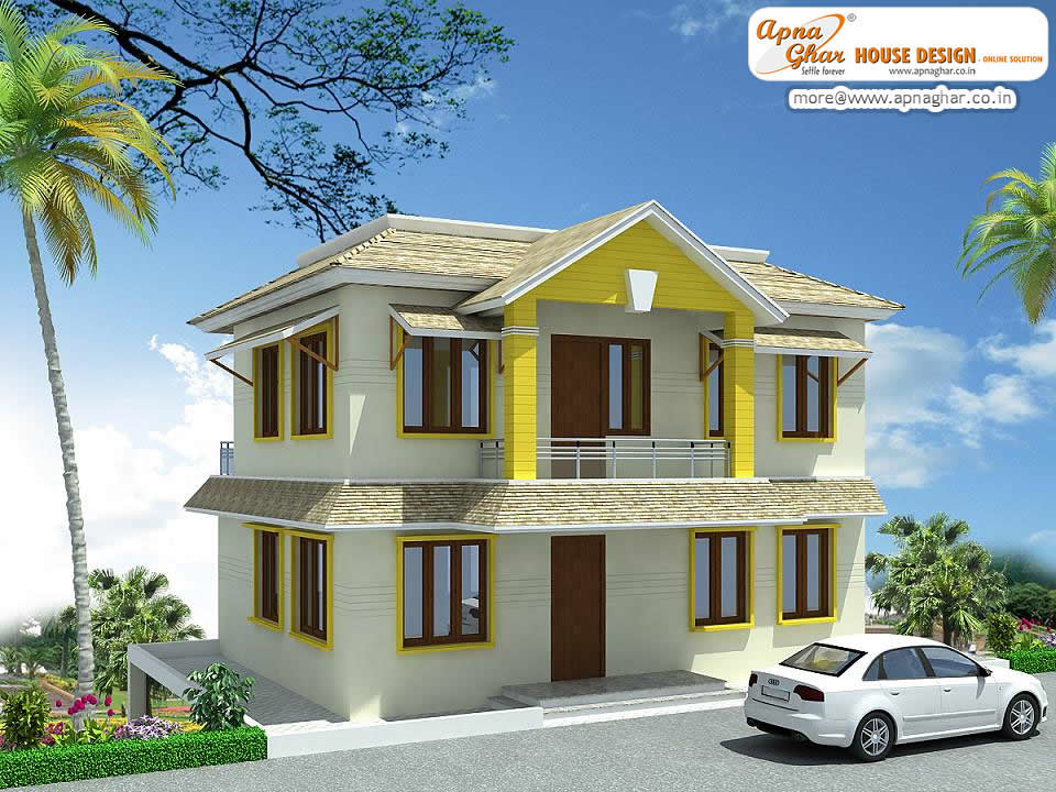 Duplex house design beautiful duplex house design in for 30x50 duplex house plans