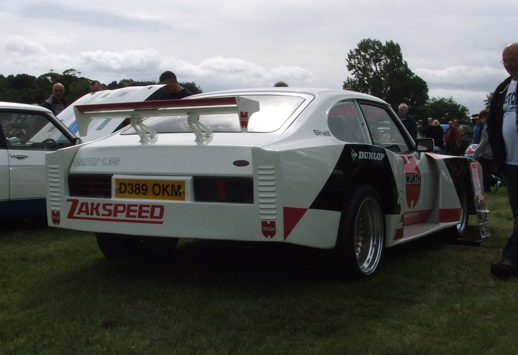 zakspeed ford capri replica picture taken at wentworth. Black Bedroom Furniture Sets. Home Design Ideas