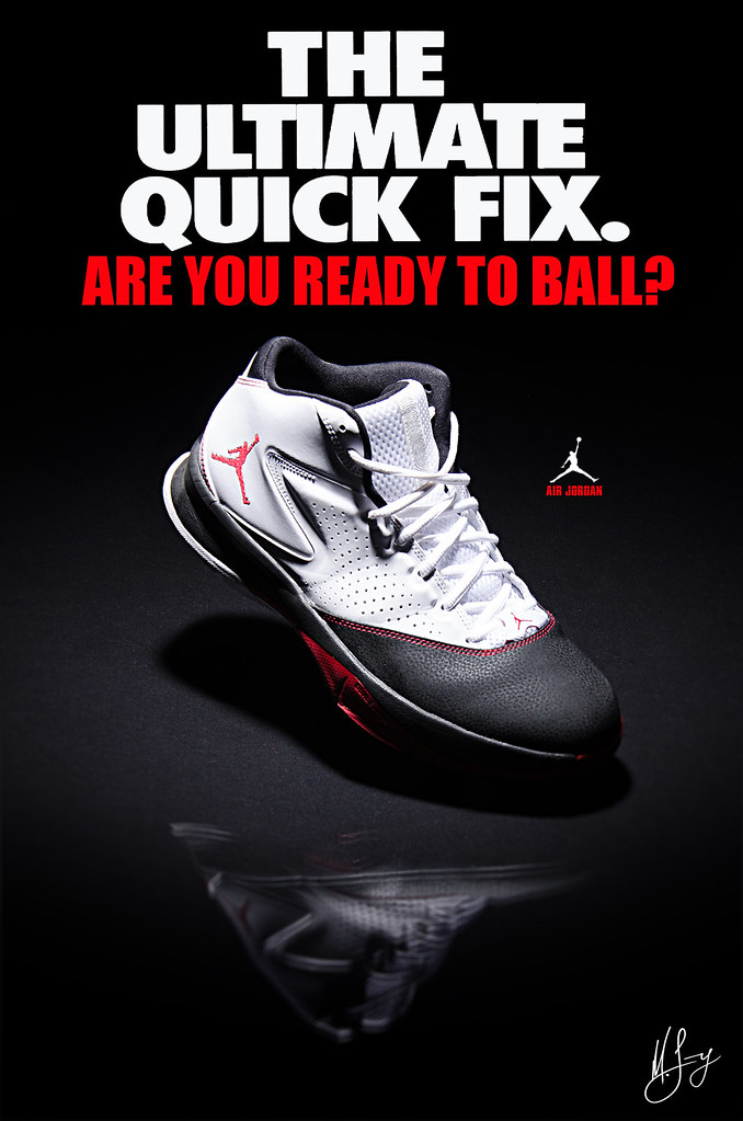 Air Jordan Shoes Advertisement