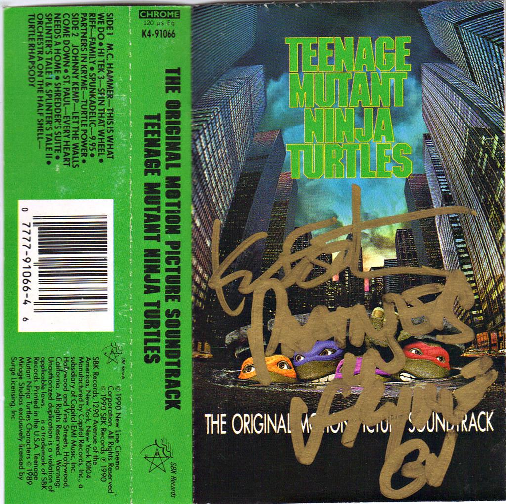 teenage mutant ninja turtles 2 movie soundtrack 1990