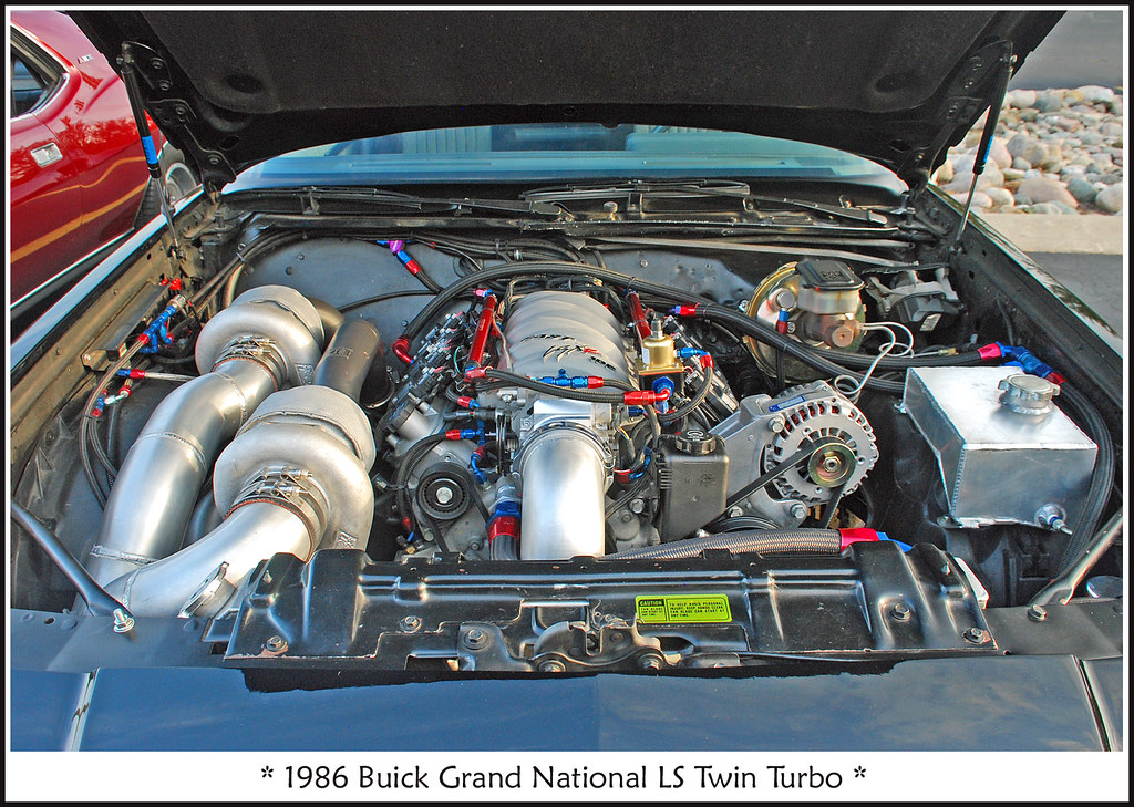 1986 Buick Grand National LS Twin Turbo - 850 hp | Find ...