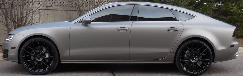 Just Finished Up This Audi A7 Full Matte Silver Wrap 3m