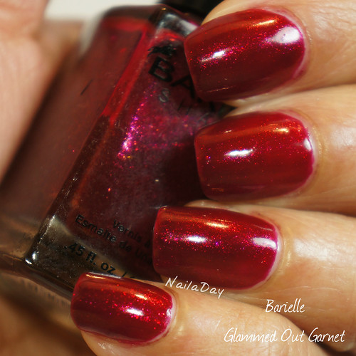 NailaDay: Barielle Glammed Out Garnet
