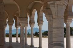 Bosque de columnas en una mezquita
