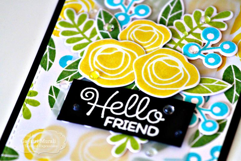 Hello Friend closeup by Gayatri Murali