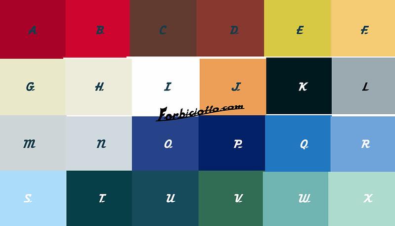 Catalogo colori