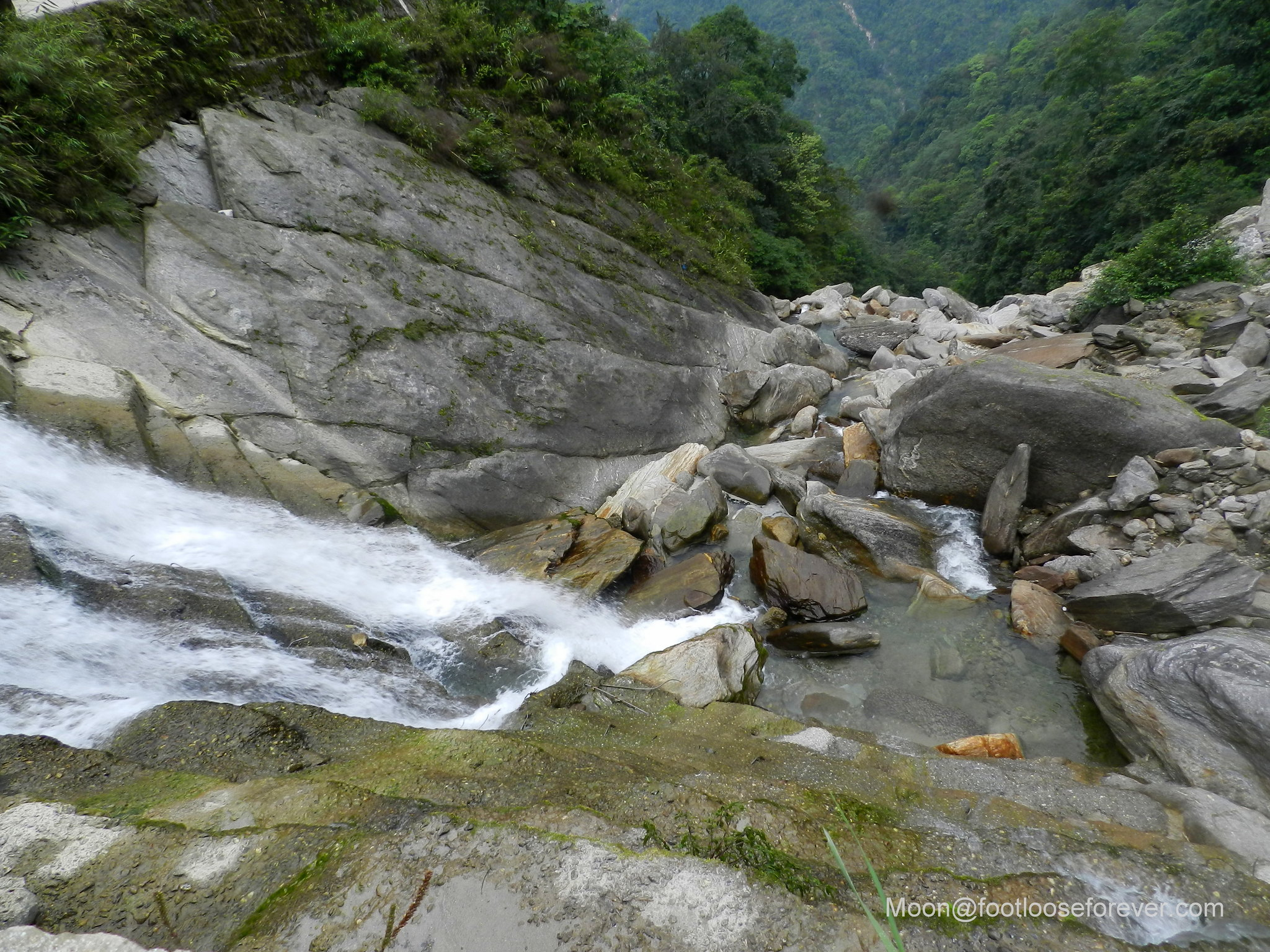 waterfalls, lachung, sikkim