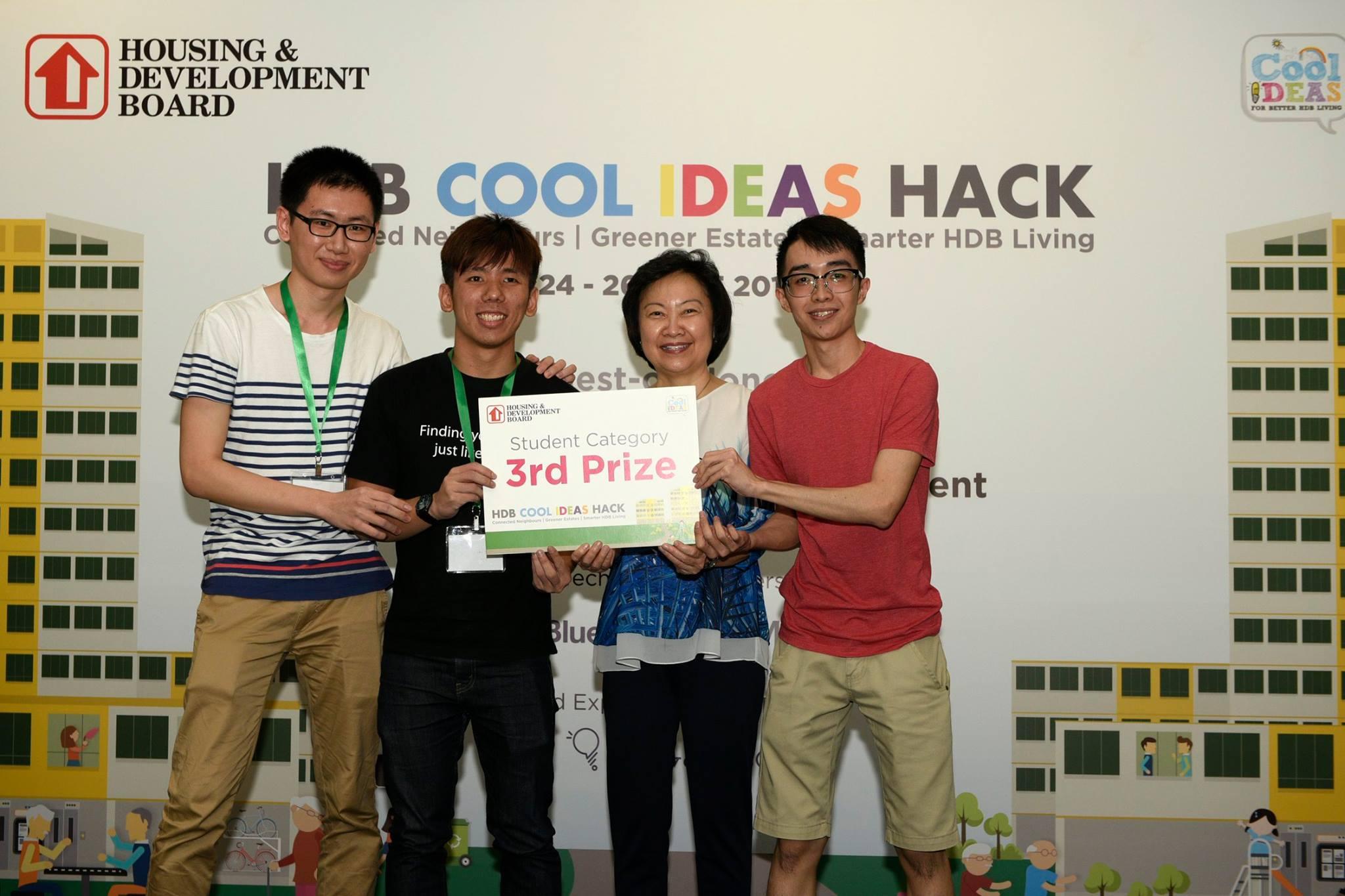 HDB Cool Ideas Hack 2016