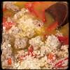 #Cavatelli #Rapini #GroundPork #Homemade #CucinaDelloZio - add the pecorino Romano