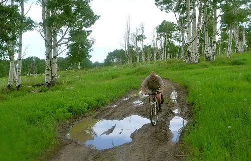 Muddy ranch road