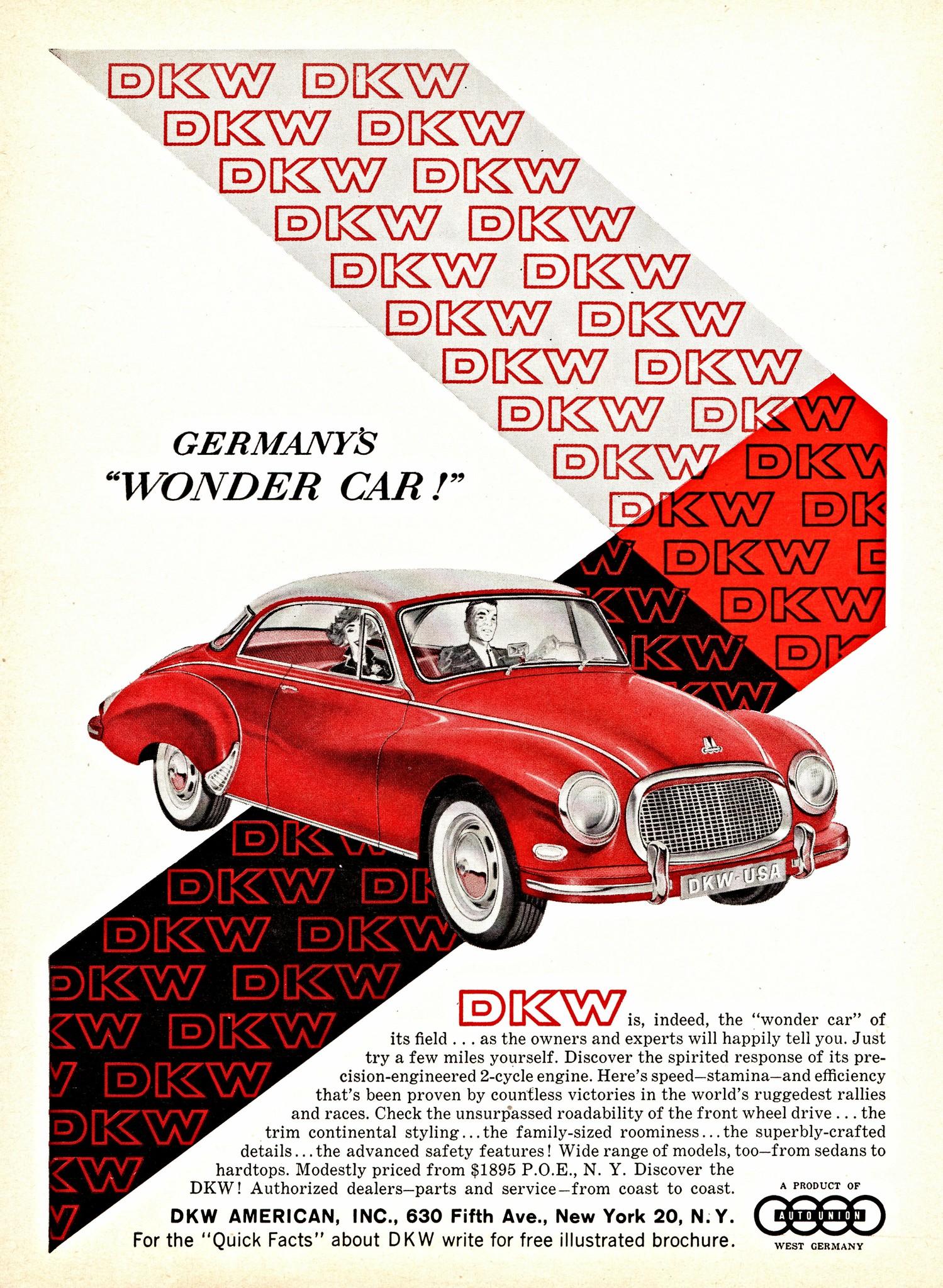 1959 DKW Hardtop