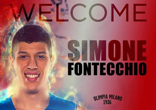 Benvenuto a Milano Simone Fontecchio