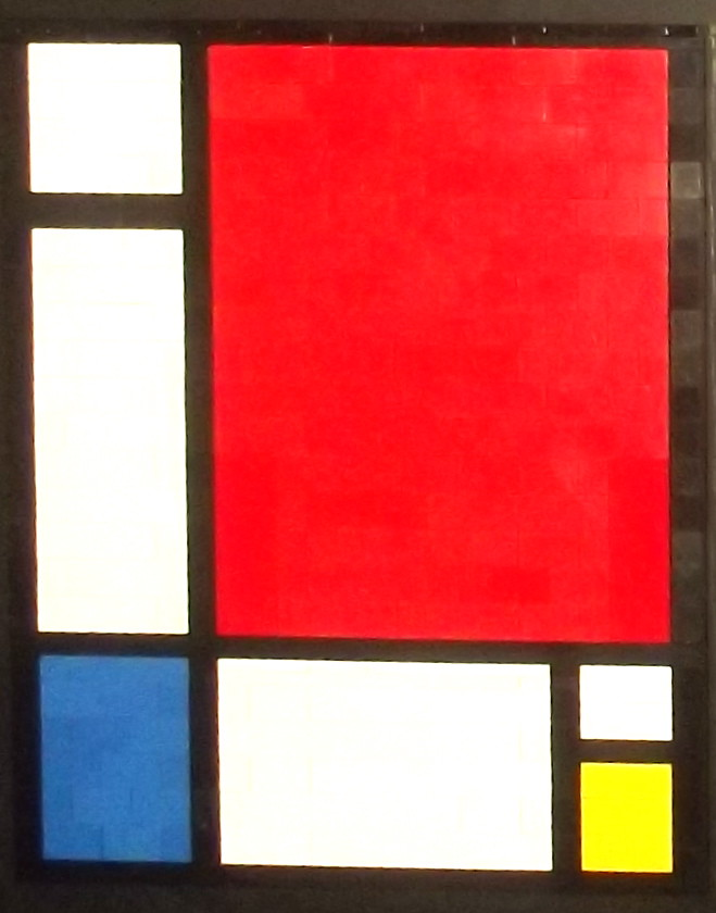 mondrian composition ii in red blue and yellow 1930 flickr. Black Bedroom Furniture Sets. Home Design Ideas