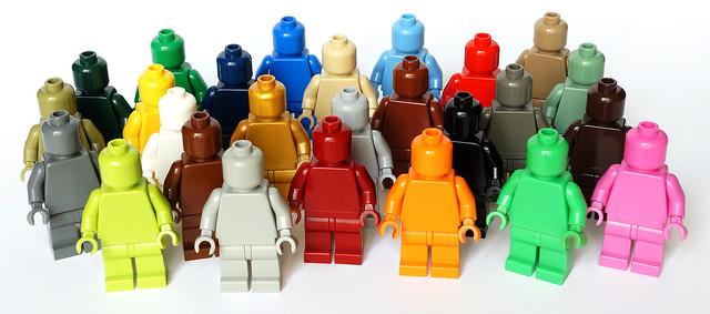 LEGO monochrome