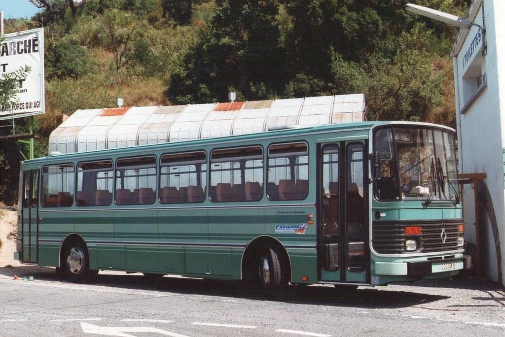 1992 le perthus 66 les cars verts du roussillon renault for Les pachas du canape vert