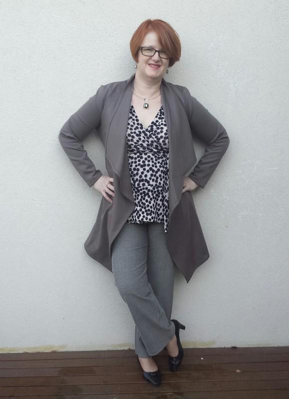 Style Arc Estelle ponte jacket