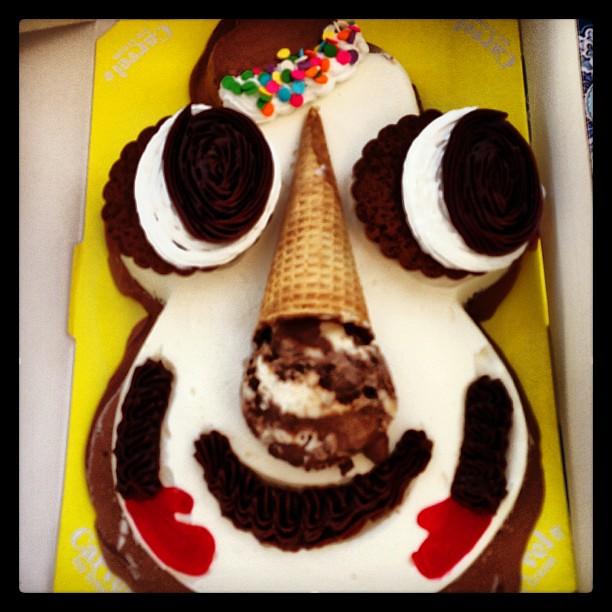 Cookie Puss Birthday Cake
