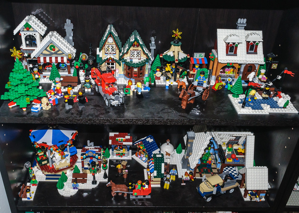 Lego Winter Village Sets 10199 10216 10222 10229 102