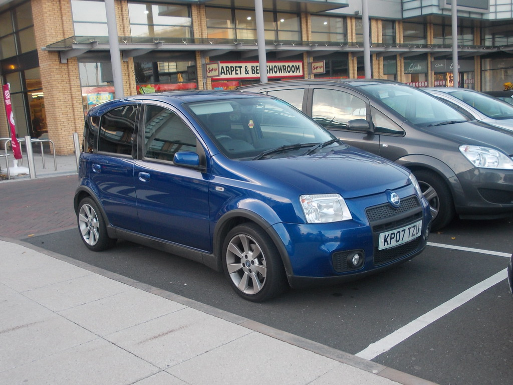 2007 fiat panda 100hp i 39 ve seen one in action and they ar flickr. Black Bedroom Furniture Sets. Home Design Ideas