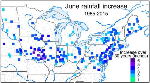June rainfall increase, 1985-2015 chart