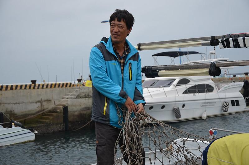 「勝財發」號現任船長,葉水上的兒子葉生鵬。攝影:潘佳修。
