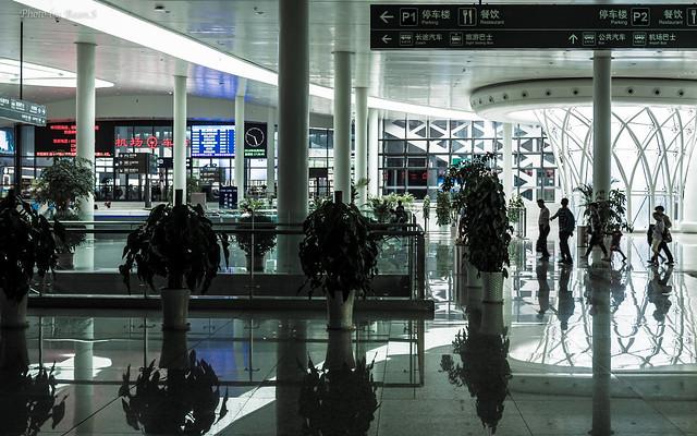 蘭州機場車站