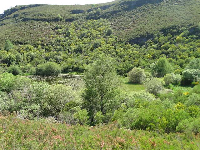 Laguna de Lucenza en O Courel