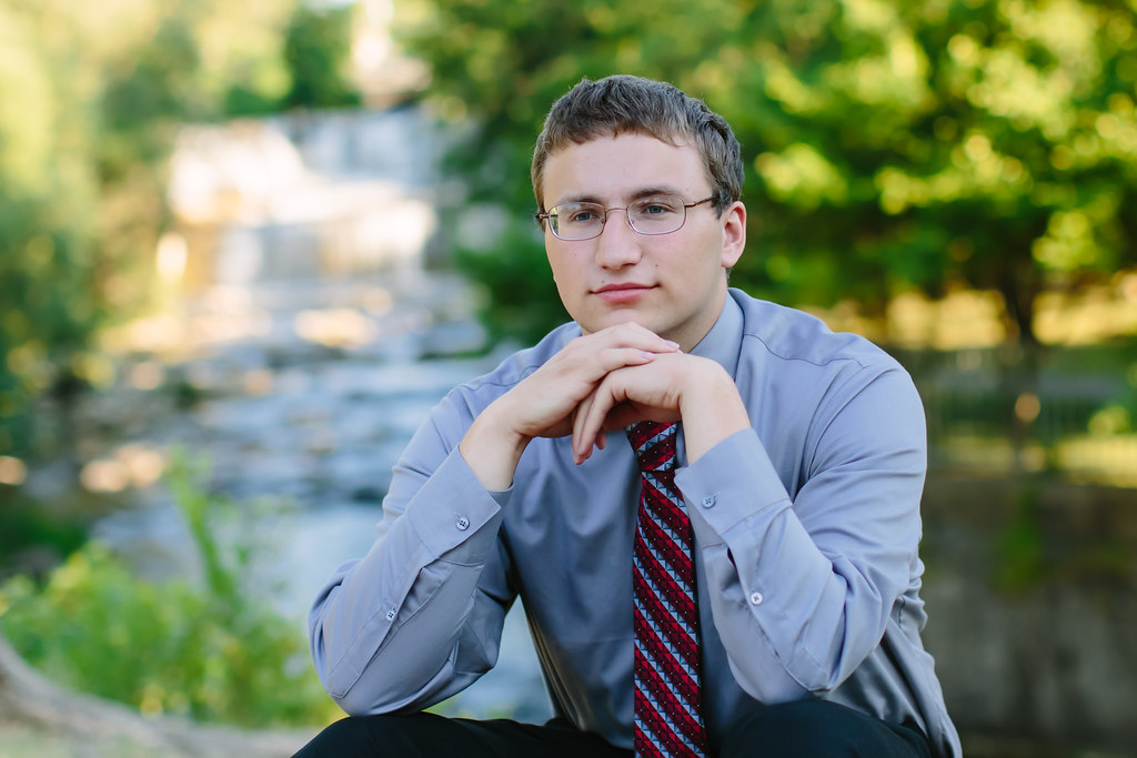 senior boy portrait Buffalo Amherst WNY Photographer