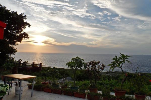 小琉球旅遊,小琉球海景民宿,藍色海灣