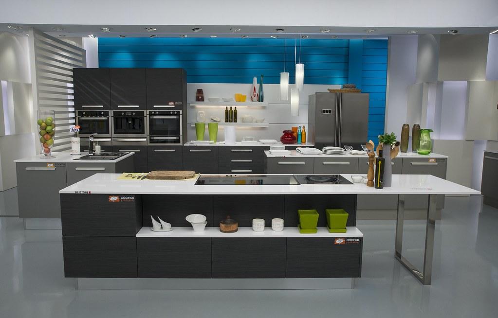 segunda cocina montada por para el programa de