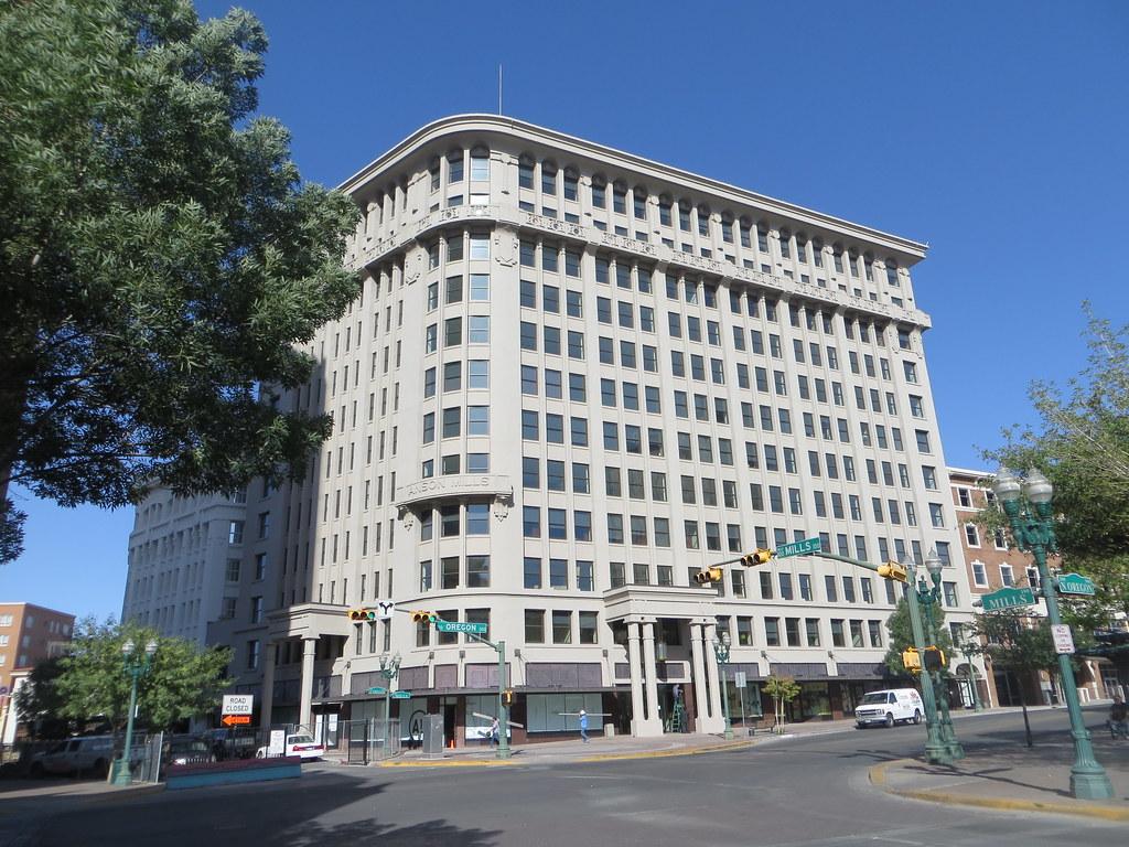 Anson Mills Building El Paso Tx National Register Of