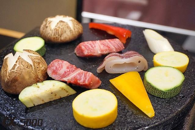 Ju.Ne Japanese Restaurant Publika - Saga Beef , hot plate -006