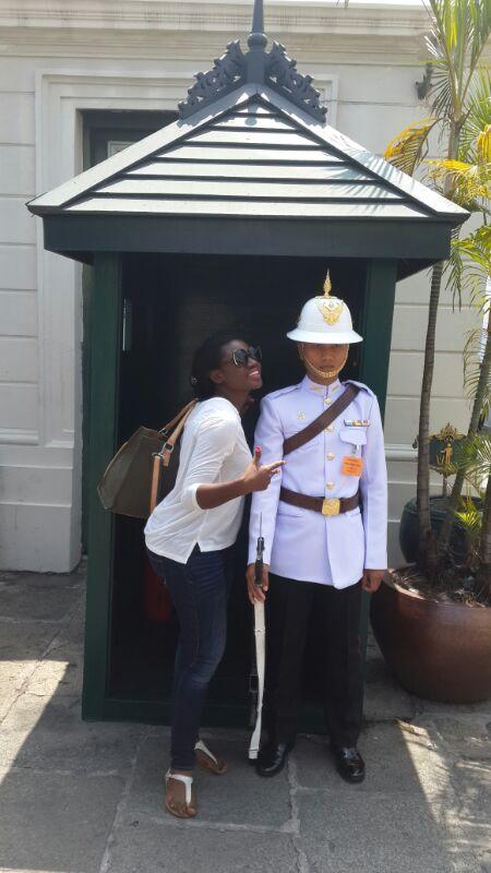 Martha Ankomah in Bangkok
