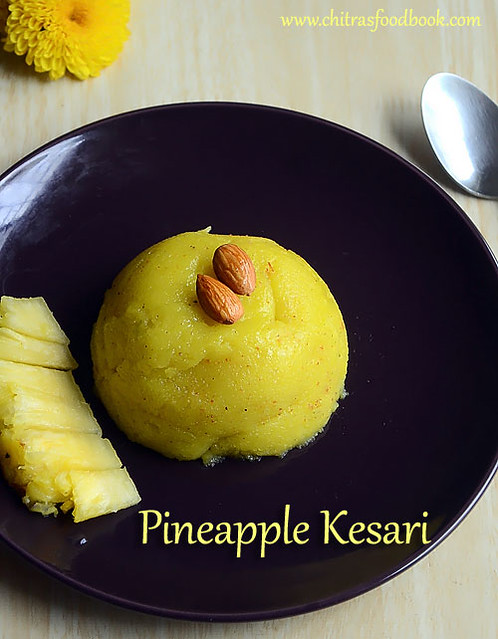 Pineapple kesari bath recipe