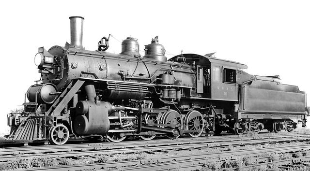 2 8 0 Consolidation Type Locomotives: Montana, Wyoming & Southern Railroad Baldwin 2-8-0