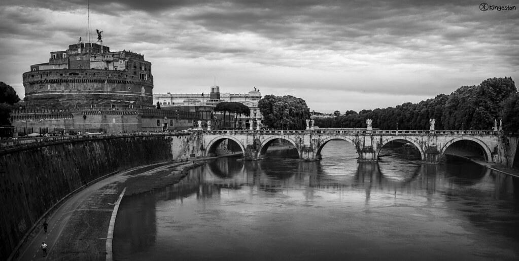roma in bianco e nero kingeston flickr