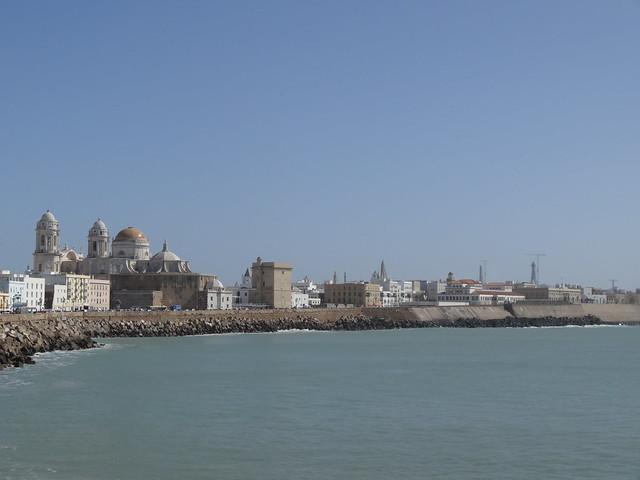 Seawall, Cadiz