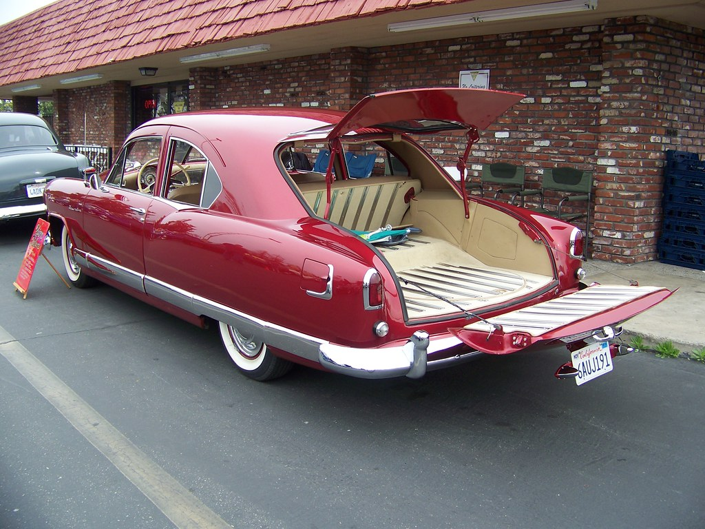 1951 kaiser deluxe traveler only 281 two doors were made flickr
